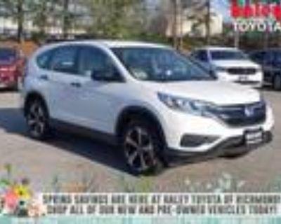 2015 Honda CR-V White, 131K miles