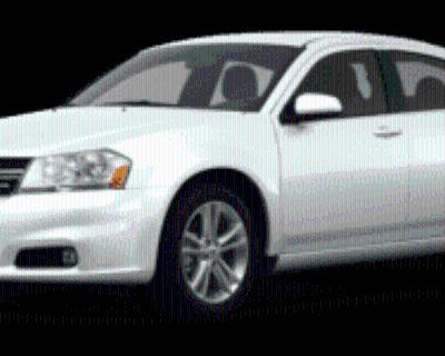 2012 Dodge Avenger SXT Plus
