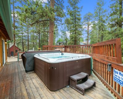 Angels Seat - 3br/2ba/log Cabin/hot Tub With Bluetooth/smart Tv/wifi/close to Lake and Slopes - Fox Farm