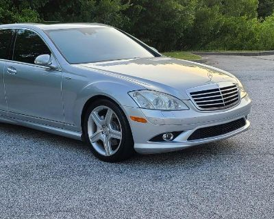 Pre-Owned 2008 MERCEDES-BENZ S CLASS S550 RWD 4dr Car