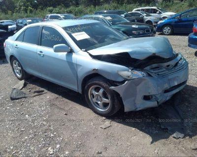 Salvage Blue 2007 Toyota Camry