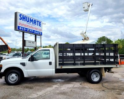2008 Ford F-350 11 FT. Flatbed 6 - Speed Manual