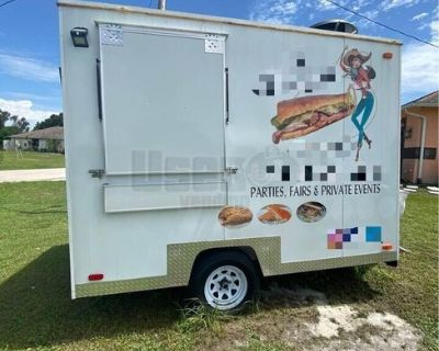 Ready to Work Used 2019 - 10' Mobile Food Concession Trailer