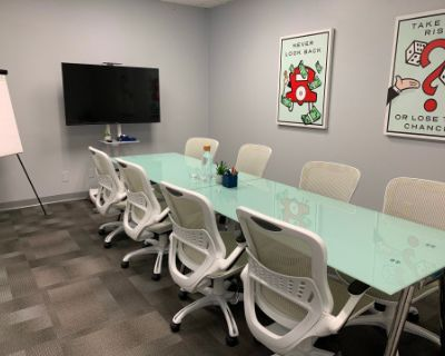 Conference Room with Interactive 13ft Whiteboard Wall!, Norcross, GA