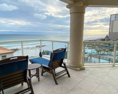 Gulf Front * Beach Chairs * Get incredible views from the largest balconies! - Pensacola Beach