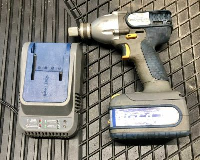 Mastercraft maximum cordless Impact Driver includes battery and charger