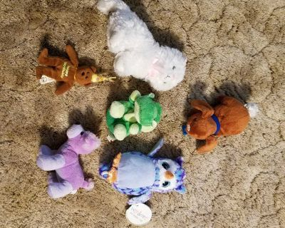 small sized stuffed animal collection
