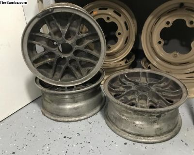 Vintage Cosmic Alloy Rims Made in England