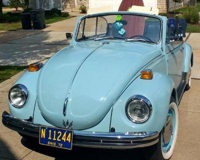 72 Super Beetle Convertible