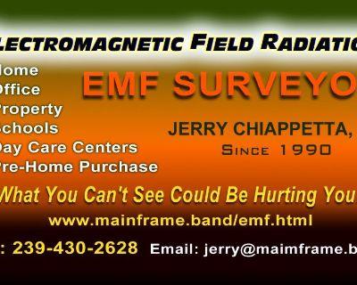 EMF Surveyor in Florida for Home & Property