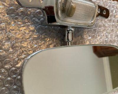 1965-66-67 Bug Convertible Rear View Mirror-OBO