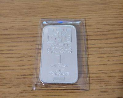 1 oz Silver Bar (RMC)