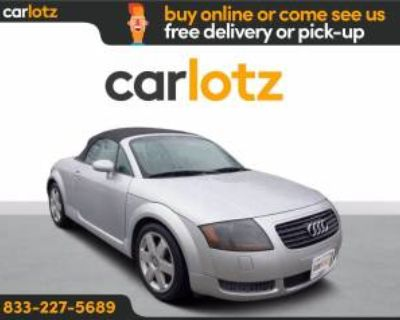2002 Audi TT Roadster 5-Speed Manual