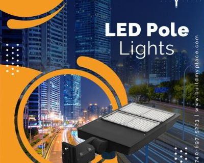 LED Pole Lights: Quality Lighting For Your House