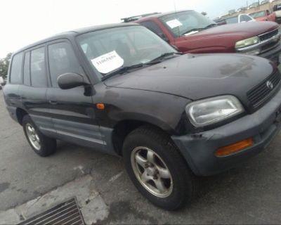 Salvage Black 1997 Toyota Rav4