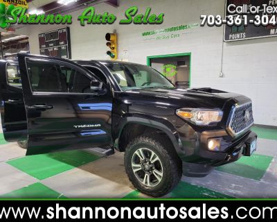 Used 2019 Toyota Tacoma 4WD TRD Sport Double Cab 5' Bed V6 AT (Natl)