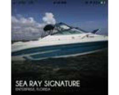 20 foot Sea Ray Signature