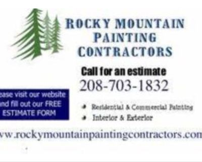 ▒█▬  Rocky Mountain Painting ▒█▬ 208-703-1832