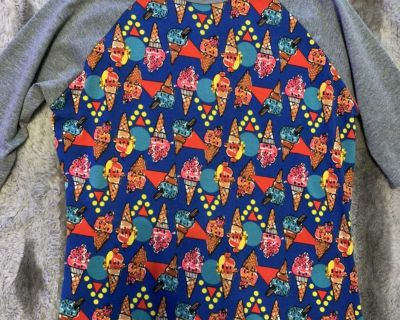 Lularoe ice cream top sz10