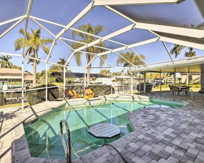NEW! Canalfront Cape Coral Home with Dock & BBQ! - Pelican