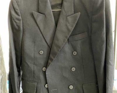 Men suit set of suit plus pant size M