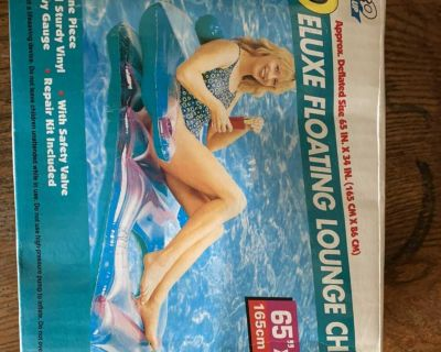 Brand new Deluxe Floating Lounge Chair