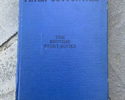 1943 The Adventures of Peter Cottontail Bedtime Story Book