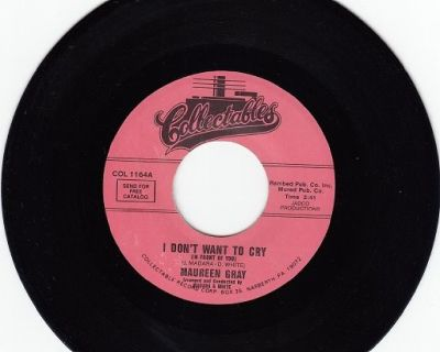 MAUREEN GRAY & GROUP ~ I Don't Want To Cry*Mint-45 !