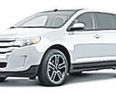 FORD 2013 EDGE SEL, Automatic, All Wheel Drive, 6 Speed, 26k miles, Stock #LI3471A...