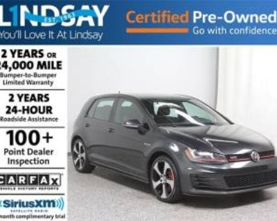 2016 Volkswagen Golf GTI SE with Performance Package 4-door Manual