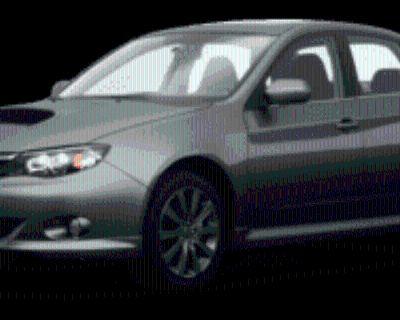 2009 Subaru Impreza WRX Base with Premium Package Sedan