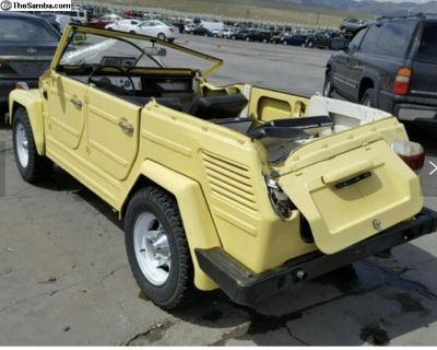 [WTB] I need a Wrecked Vw Thing 181