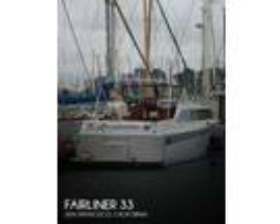 34 foot Fairliner 33