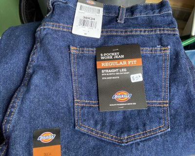 New dickies jeans 38x34