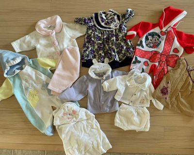 Free baby girl clothing. 6 months +
