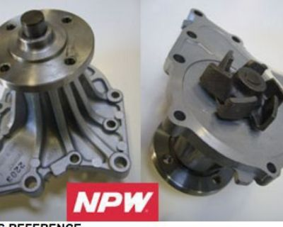 For 86-92 Toyota Supra Cressida 3.0l Water Pump Npw New