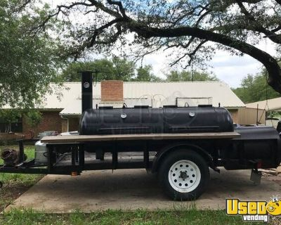 Super Neat Open BBQ Smoker Tailgating Trailer/Used Mobile BBQ Pit