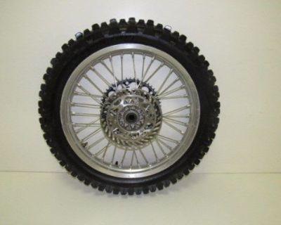 99-02 Kawasaki Kx 125 Kx125 Kx 250 Kx250 Rear Wheel Rear Rim Complete Nice
