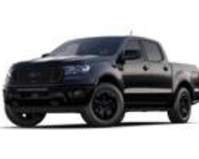 2021 Ford Ranger Black