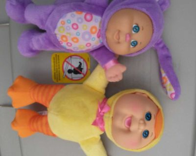 My first cabbage patch dolls