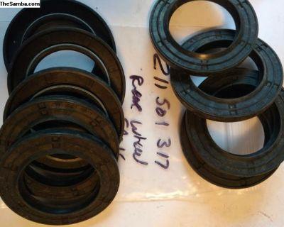 Rear wheel bearing seal