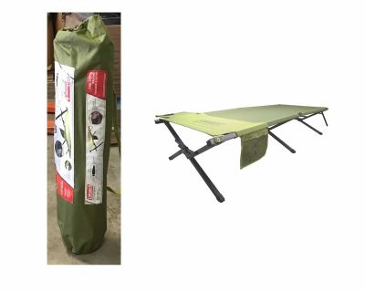 Coleman Trailhead Easy Step Cot - Green Preowned (Excellent Condition)