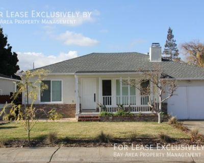 Bright 3BR/2 BA single family home with fenced yard and storage