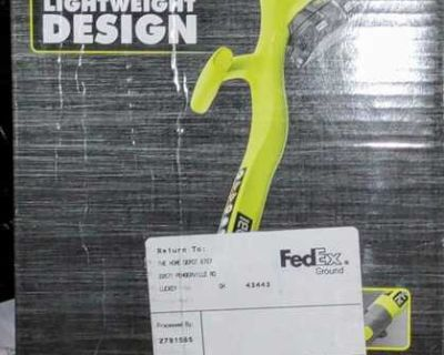 Ryobi ONE+ 18V 10 in. Cordless Battery String Trimmer and Edger (Tool Only)