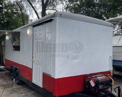 8' x 20' Mobile Food Concession Trailer