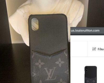 Louis Vuitton IPhone XS Max Bumper Case