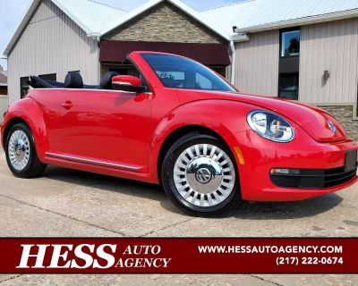 Used 2013 Volkswagen Beetle Convertible 2dr Auto 2.5L