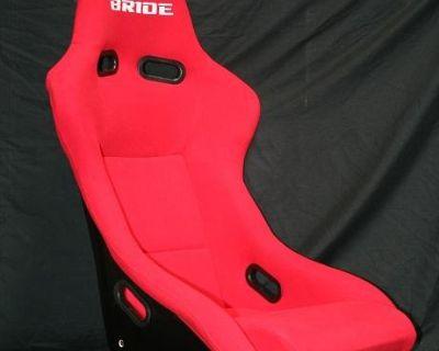 One Single Bride Zeta Red Racing Seat Black Back