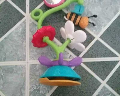 High chair baby toy