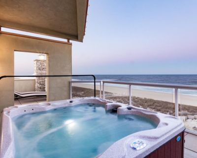 Oceanfront Acropolis Condo w/Private Hot Tub, Ocean View, Free WiFi, and W/D - Midtown Ocean City